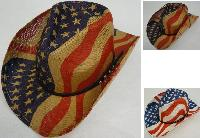 Flag Cowboy Hat [Hatband with Studs]